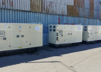 3 generatoare 220 kVA - Acquacaras