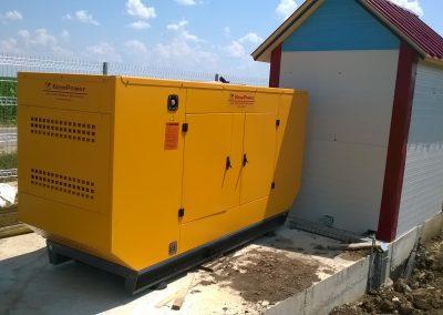 generator 110 kVA - ferma Dindesti SM