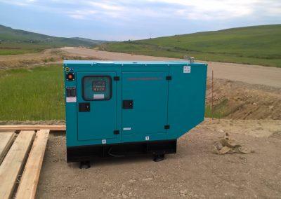 generator 12 kVA - organizare de santier