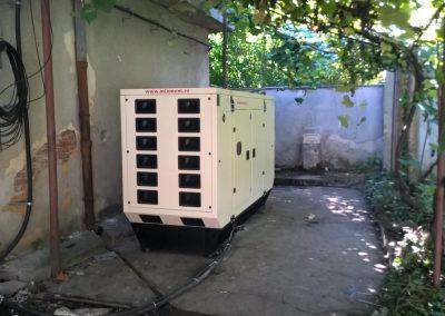 generator 130 kVA - Politia de Frontiera Oradea